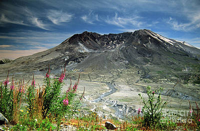 Photograph - Mount Saint Helens Caldera by Rick Bures