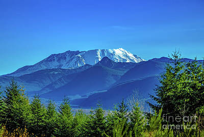 Photograph - Mount Saint Helens by Jon Burch Photography