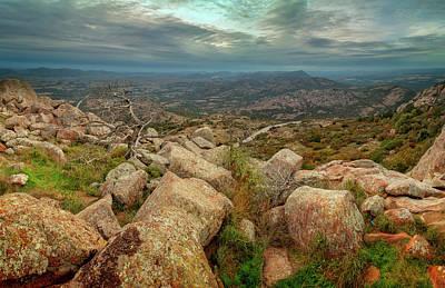 Photograph - Mount Scott Sunset by Ricky Barnard