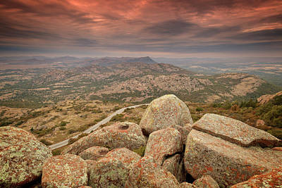 Mountain Royalty-Free and Rights-Managed Images - Mount Scott View III by Ricky Barnard