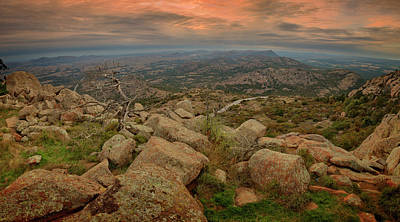 Mountain Royalty-Free and Rights-Managed Images - Mount Scott View by Ricky Barnard