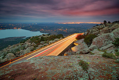 Mountain Royalty-Free and Rights-Managed Images - Mount Scott View V by Ricky Barnard