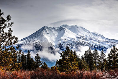Mount Shasta Photograph - Mount Shasta 01 by Michael Parks