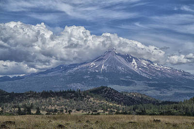 Photograph - Mount Shasta 9950 by Tom Kelly