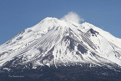 Digital Art - Mount Shasta California by Tom Janca