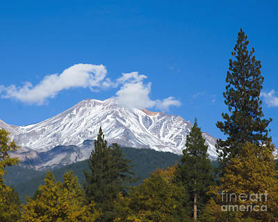 Photograph - Mount Shasta California by Yulia Kazansky