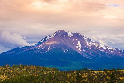 Photograph - Mount Shasta by Carmen Tosca