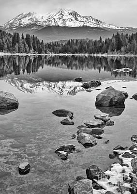 Mt Shasta Photograph - Mount Shasta Reflection by Jamie Pham