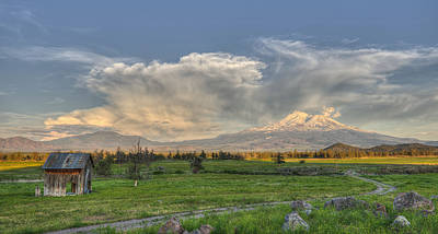 Photograph - Mount Shasta Remembers by Loree Johnson