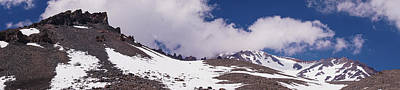 Photograph - Mount Shasta Summit Panorama by Lawrence S Richardson Jr