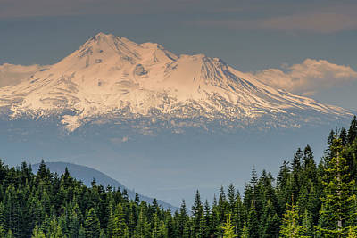 Photograph - Mount Shasta by Thomas Pettengill