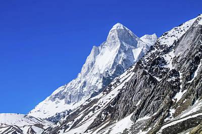 Photograph - Mount Shivaling - Indian Himalayas by Nila Newsom
