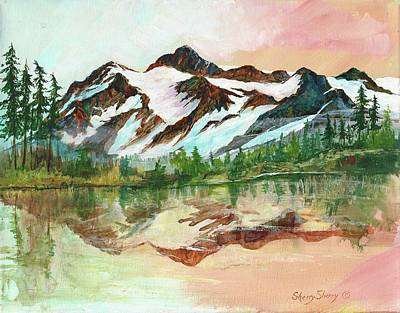 Painting - Mount Shuskan by Sherry Shipley