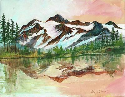 Painting - Mount Shuskan by Sherry Shipley
