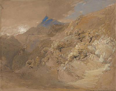 Painting - Mount Siabod From Tyn-y-coed Near Capel Curig by Samuel Palmer