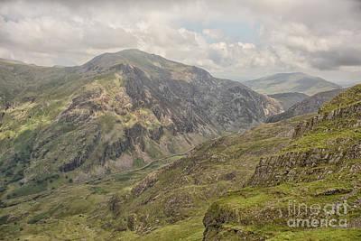 Photograph - Mount Snowdon Landscape by Patricia Hofmeester