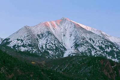 Photograph - Mount Sopris Alpenglow by Jemmy Archer