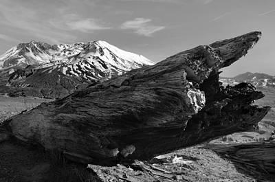 Mount St Helen Art Print