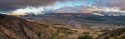 Photograph - Mount St Helen by Lindy Grasser