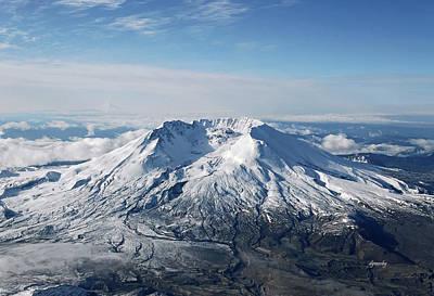 Mount St. Helens 0005 Art Print by David Mosby