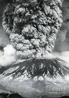 Mount St. Helens Eruption, 1980 Art Print by Science Source