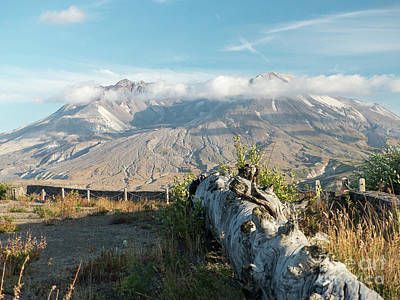 Photograph - Mount St Helens by Rod Jones