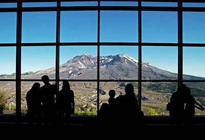 Photograph - Mount St Helens View by Doug Davidson