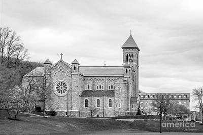 Mount St. Mary's University Chapel Art Print by University Icons