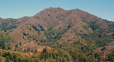 Photograph - Mount Tamalpais #1 by Ben Upham III