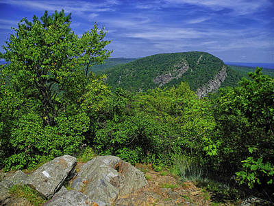 Photograph - Mount Tammany From Mount Minsi by Raymond Salani III