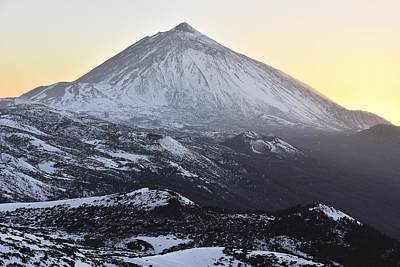 Photograph - Mount Teide In Winter  by Marek Stepan