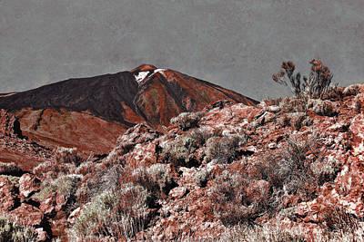 Photograph - Mount Teide Volcano Landscape by Menega Sabidussi