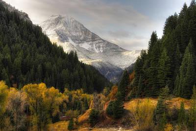 Photograph - Mount Timpanogos 2 by Douglas Pulsipher
