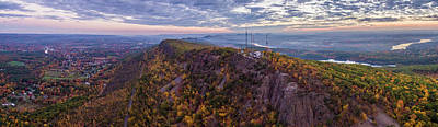 Photograph - Mount Tom State Park by Bert Perry