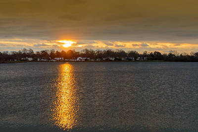 Natural Landscape Photograph - Mount Trashmore Sunrise by Michael Scott