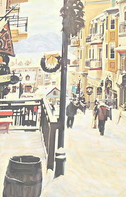 Photograph - Mount Tremblant Afternoon by Ian  MacDonald