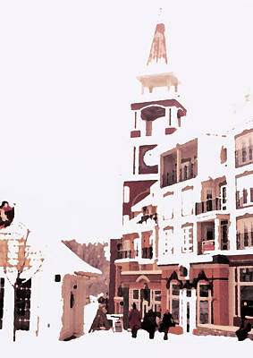 Digital Art - Mount Tremblant by Ian  MacDonald