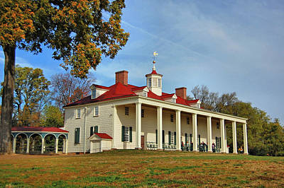 Photograph - Mount Vernon Estate by Ben Prepelka