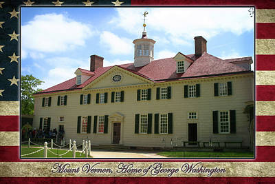 Photograph - Mount Vernon Home Of George Washington by Anthony Jones