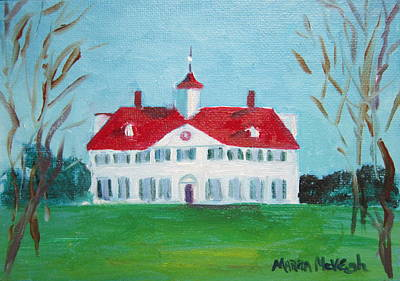 Mount Vernon Painting - Mount Vernon by Marita McVeigh