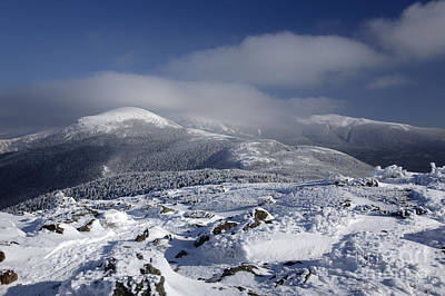 Mount Washington - New Hampshire Usa Art Print