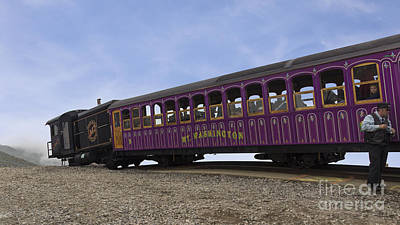 Photograph - Mount Washington Cog Railway by Jemmy Archer