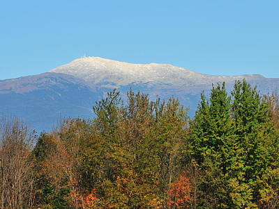 Photograph - Mount Washington From River Road - North Conway by Brian Hoover