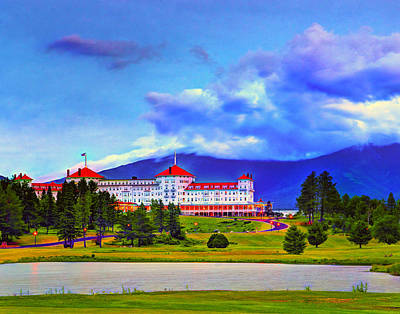 Photograph - Mount Washington Hotel 026 by Jeff Stallard