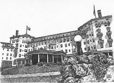Mount Washington Hotel Number Four Art Print