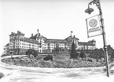 Mount Washington Hotel Number One Art Print