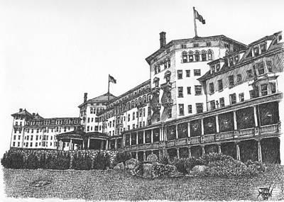 Mount Washington Hotel Number Two Art Print
