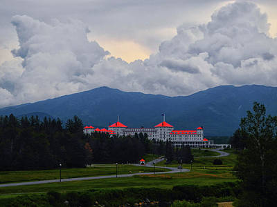 Photograph - Mount Washington Hotel by Raymond Salani III