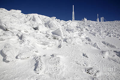 Mount Washington New Hampshire - Rime Ice Art Print by Erin Paul Donovan