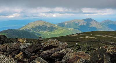 Photograph - Mount Washington, Nh by Mim White